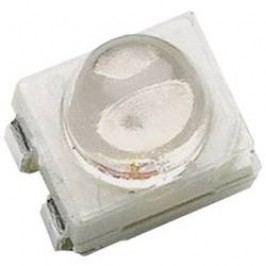 SMD LED v PLCC4 Avago Technologies HSMJ-A431-X90M1, 4500 mcd, červenooranžová