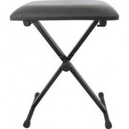Stolička ke klávesám, černá