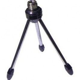 Stolní stativ na mikrofon, stříbrná
