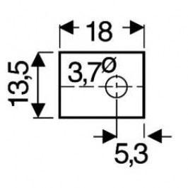 Slídová podložka Fischer Elektronik GS 66 P, (d x š) 18 mm x 13.5 mm, vhodné pro TOP-66, 1 ks