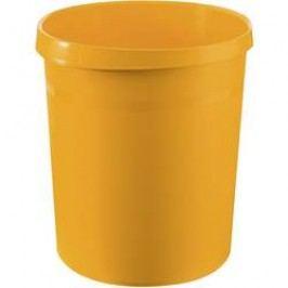 Koš na papír HAN Grip, 350 mm, vnější Ø 237 mm, 18 l, žlutá