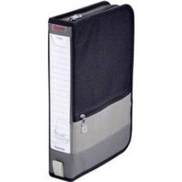 KANCELÁŘSKÁ BRAŠNA NA 64 CD, ŠEDÁ/ČERNÁ šedá, černá 64 CD/DVD (š x v x h) 63 x 295 x 200 mm Hama