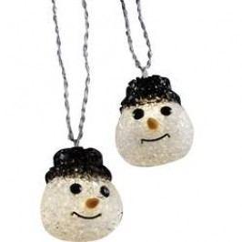 Venkovní vánoční řetěz Polarlite, 10 LED, 2,7 m, sněhulák
