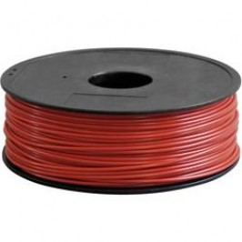 Náplň pro 3D tiskárnu, Renkforce ABS300R1, ABS, 3 mm, 1 kg, červená