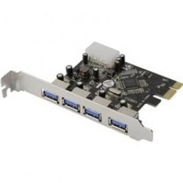 PCI karta ⇒ 4x port USB 3.0, Digitus DS-30221 DS-30221