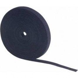 Páska se suchým zipem, Fastech 696-330C, černá, 5 m x 10 mm