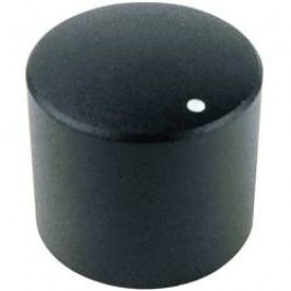 Otočný knoflík Cliff FC7231, pro sérii KMR, 6 mm, s drážkováním, černá