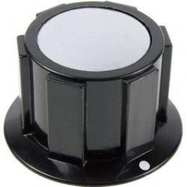 Knoflík Cliff FC1616, pro sérii K1C, 6,35 mm, černá/stříbrná