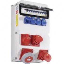 Plastový rozbočovač s jističem Sölden PCE, 9029706, 400 V, 63 A, IP54