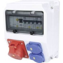 Plastový rozbočovač s jističem Lofer PCE, 9019153, 400 V, 16 A, IP54