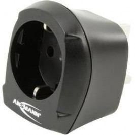 Cestovní adaptér Ansmann, 1250-0001, Velká Británie, černá