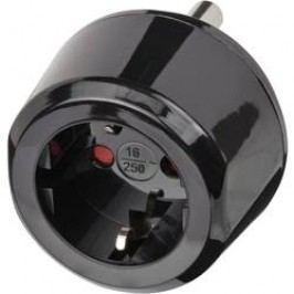 Cestovní adaptér Brennenstuhl, 1508460, JAR, černá