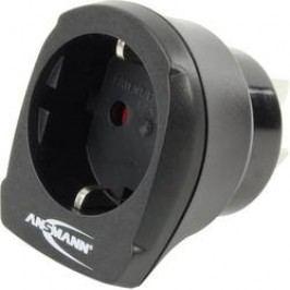 Cestovní adaptér Ansmann, 1250-0003, Asie, černá