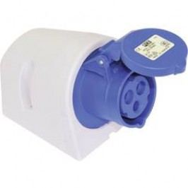 CEE-Cara zásuvka 113-6tt PCE, 16 A, IP44, modrá