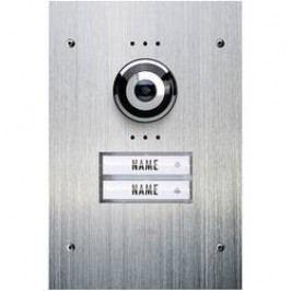 Venkovní jednotka pro domácí videotelefon m-e VDV-920, 2 rodiny, nerez