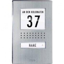 Venkovní jednotka pro domácí telefon m-e ADV-110.1, 1 rodina, nerez