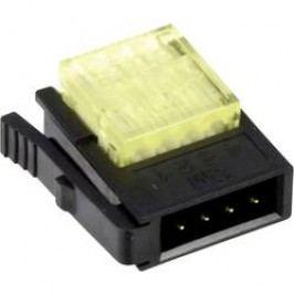 Nízkonapěťová svorka 3M, 37104-3122-000 FL, 0,14 - 0,25 mm², 4pólová, žlutá