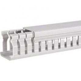 Elektroinstalační lišta Hager, BA6 60080, 88x64 mm, 2 m, šedá