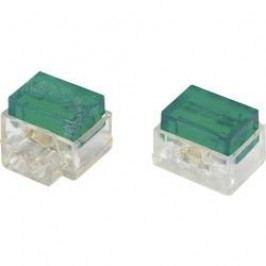 Svorka, SJT7, 1,13 - 1,13 mm², 2pólová, zelená, 30 kusů