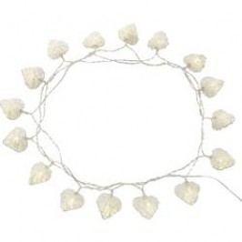 Vánoční mini řetěz se srdíčky Polarlite, 16 LED, 4,5 m