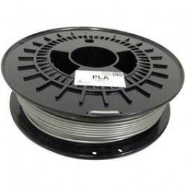 Náplň pro 3D tiskárnu, German RepRap 100254, PLA, 3 mm, 750 g, stříbrná
