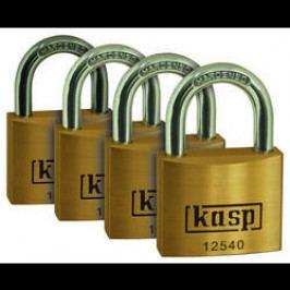 Visací zámky Kasp K12520D4 série 125, 20 mm, sada 4 ks
