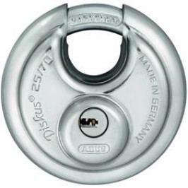 Visací zámek na klíč ABUS ABVS35825, 117 mm, stříbrná