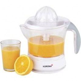 Elektrický lis na citrusy Korona 27010, 40 W, bílá/šedá
