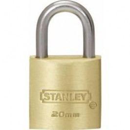 Visací zámek na klíč Stanley Vorhängeschlösser 81100371401, 20 mm, mosaz