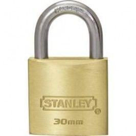 Visací zámek na klíč Stanley Vorhängeschlösser 81102371401, 20 mm, mosaz