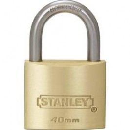 Visací zámek na klíč Stanley Vorhängeschlösser 81103371401, 40 mm, mosaz