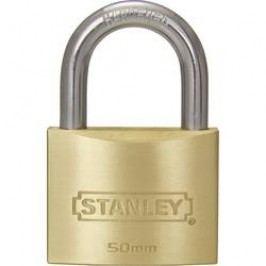 Visací zámek na klíč Stanley Vorhängeschlösser 81104371401, 25 mm, mosaz