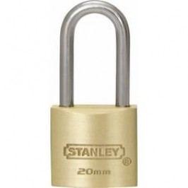 Visací zámek na klíč Stanley Vorhängeschlösser 81110371401, 20 mm, mosaz