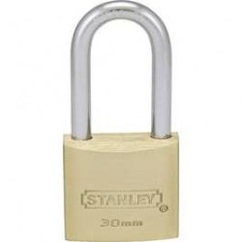 Visací zámek na klíč Stanley Vorhängeschlösser 81112371401, 30 mm, mosaz