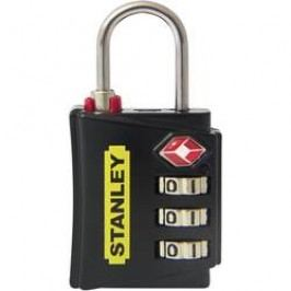 TSA visací zámek na heslo Stanley Vorhängeschlösser 81140393401, 18 mm, černá, červená, žlutá