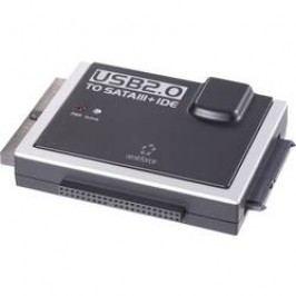 SATA, IDE, USB konvertor Renkforce RF-3833985, 0.9 m, černá