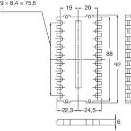 Ochraná objímka Panasonic pro regulátor teploty KT9