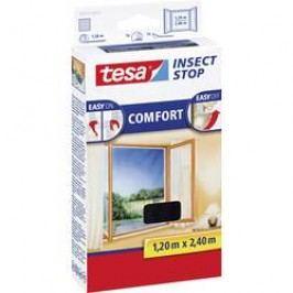 Síť proti hmyzu do okna Tesa Comfort, 55918-21, 1,2 x 2,4 m, antracit