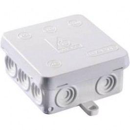 Rozbočovací krabice do vlhkých prostor Wiska KA 12, IP54, šedá, 10060822