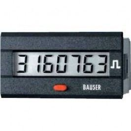 Digitální čítač impulsů Bauser, 3810,3,1,7,0,2, 115 - 240 V/AC, 45 x 22 mm, IP54