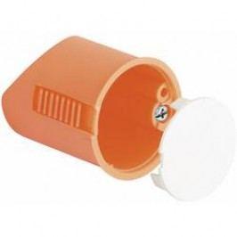 Instalační krabice Kaiser Elektro 9248-01 pro nástěnná svítidla, s krytkou, 35 x 40 mm, oranžová