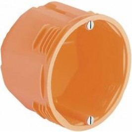 Krabička pro instalaci do masivního dřeva Kaiser Elektro, 68 x 65 mm, oranžová, 9066-12