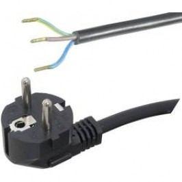 Síťový kabel Hawa, zástrčka/otevřený konec, 1,5 mm², 1,5 m, černá, 1008222