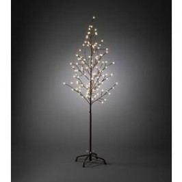 LED vánoční stromeček Konstsmide 3378-600, do sítě, hnědá