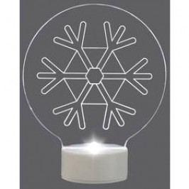 LED sněhová vločka Polarlite LBA-51-008, na baterie