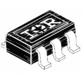 MOSFET International Rectifier IRLMS6702TRPBF 0,2 Ω, -2,3 A Micro 6
