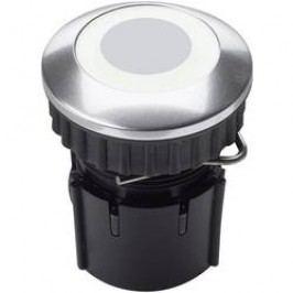 Zvonkové nerez tlačítko Grothe PROTACT 220, max. 24 V/ 16 A, bílý LED kroužek, 63222