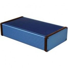 Univerzální pouzdro hliníkové Hammond Electronics, (d x š x v) 220 x 125 x 51,5 mm, modrá