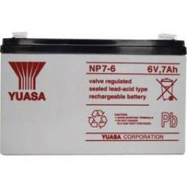 Olověný akumulátor YUASA NP 6 V 7 Ah