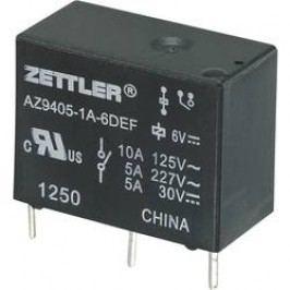 Miniaturní zátěžové relé AZ9405, 10 A 9 V/DC 10 A Zettler Electronics AZ9405-1A-9DEF